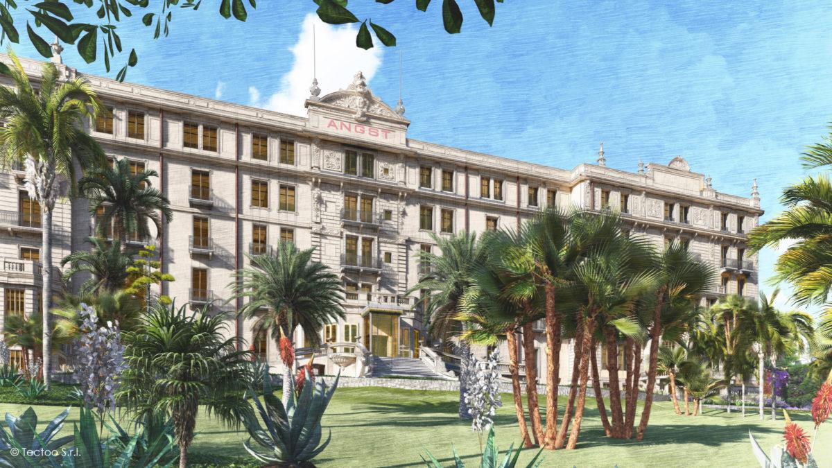 Hotel ANGST_Vista di progetto