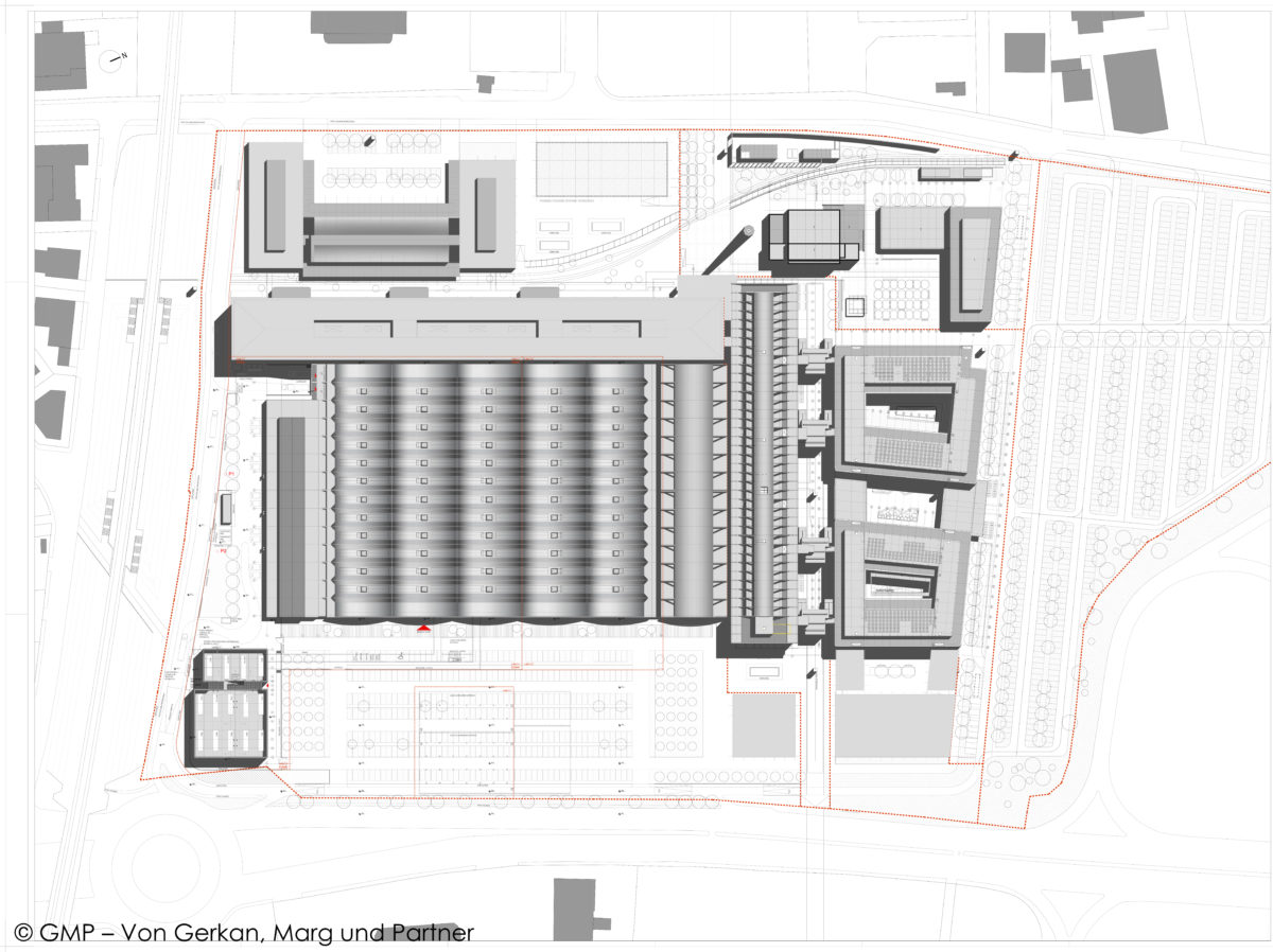 Tecnopolo Bologna_planimetria generale