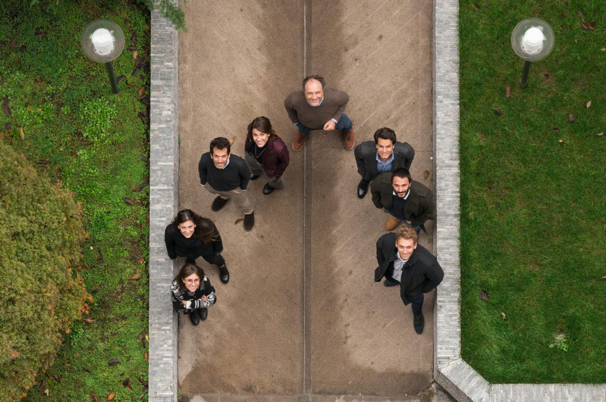 staff dall'alto