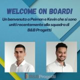 Welcome on Board Peiman_Kevin